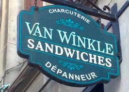 van winkle sandwiches