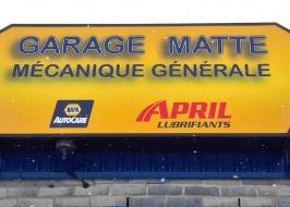 garage matte