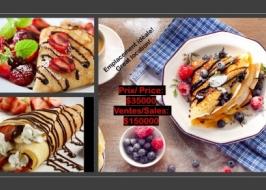 café creperie- park avenue-  ref. ck-0034