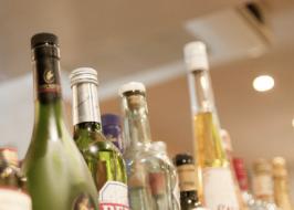 strategically located liquor store