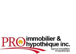 Pro Immobilier et hypotheque